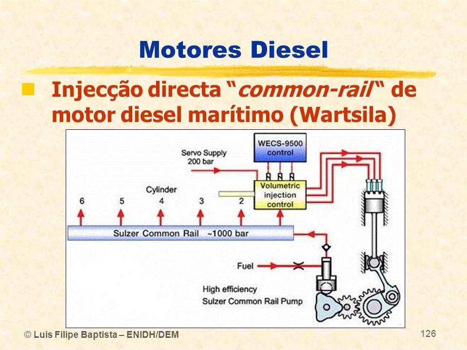 "© Luis Filipe Baptista – ENIDH/DEM 126 Motores Diesel  Injecção directa ""common-rail "" de motor diesel marítimo (Wartsila)"