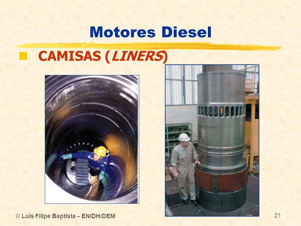© Luis Filipe Baptista – ENIDH/DEM 21 Motores Diesel  CAMISAS (LINERS)