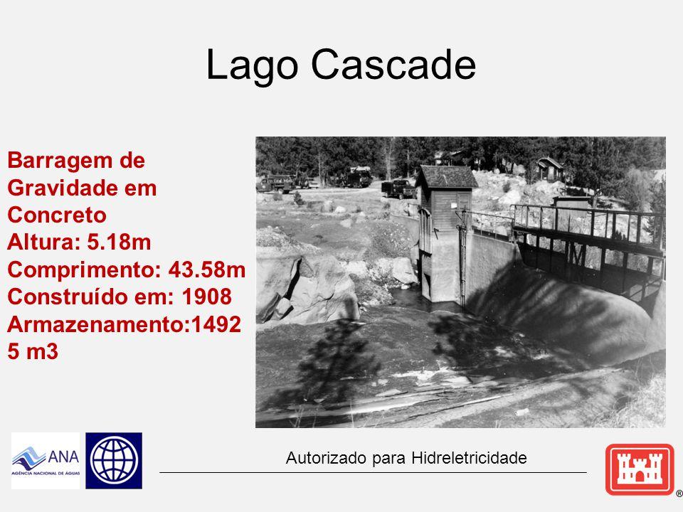 Ruptura da Barragem Lawn Lake, 5ª- feira, 15 de julho, 1982 Tipo de barragem: Aterro Altura da barragem: 8 m Dam crest length: 170 m Volume do reservatório: 831366 m3