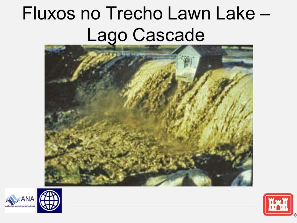 Lago Cascade Barragem de Gravidade em Concreto Altura: 5.18m Comprimento: 43.58m Construído em: 1908 Armazenamento:1492 5 m3 Autorizado para Hidreletricidade