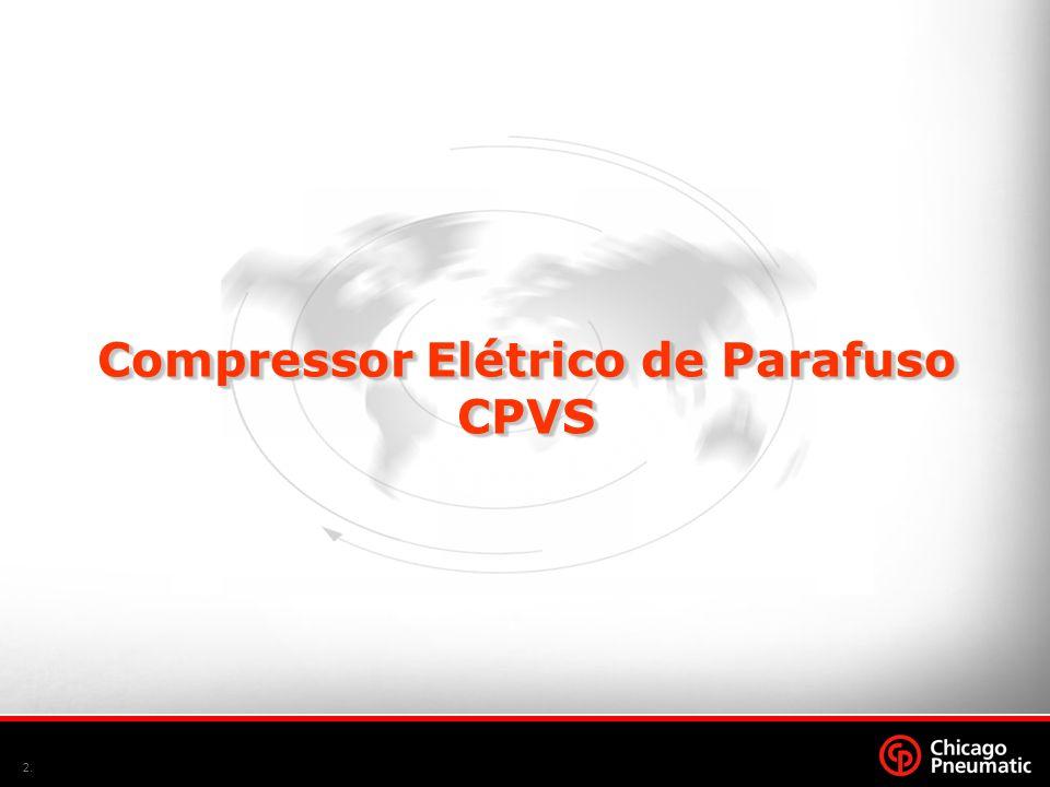 2. Compressor Elétrico de Parafuso CPVS CPVS