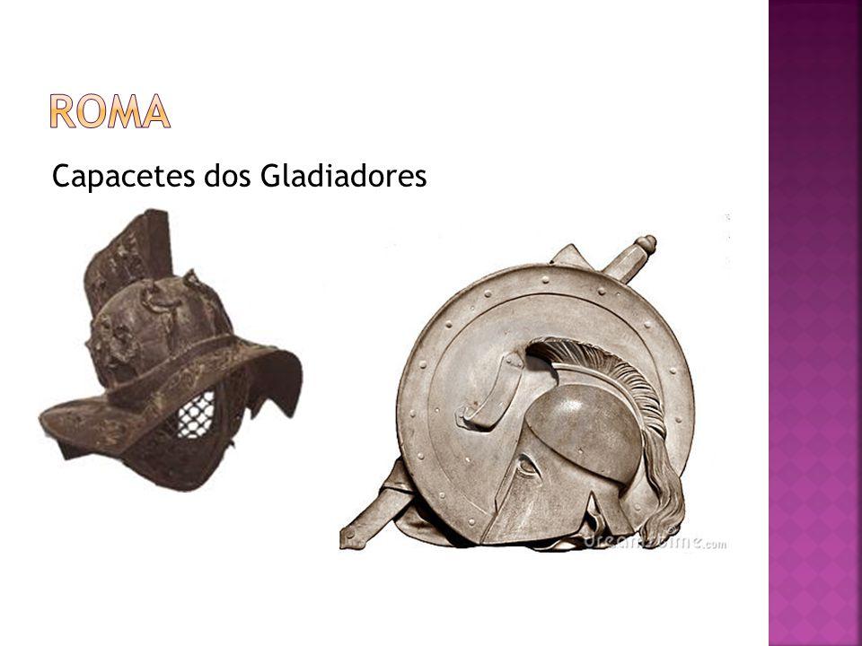 Capacetes dos Gladiadores