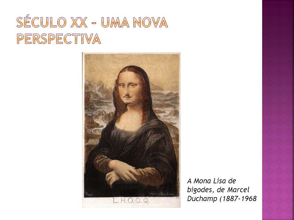 A Mona Lisa de bigodes, de Marcel Duchamp (1887-1968