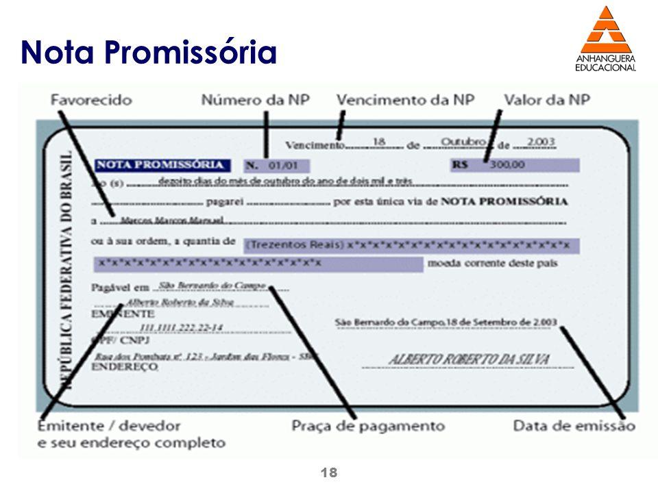 18 Nota Promissória