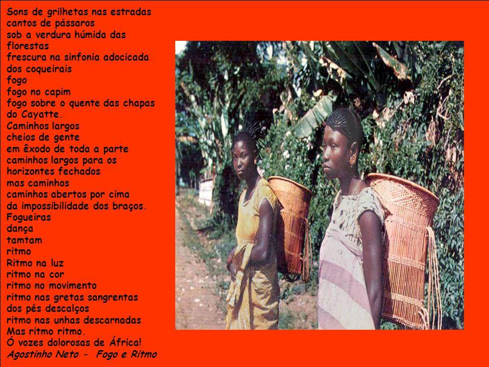 ANGOLANO Ser angolano é meu fado, é meu castigo Branco eu sou e pois já não consigo mudar jamais de cor ou condição...