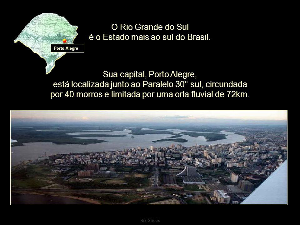 Ria Slides O Rio Grande do Sul é o Estado mais ao sul do Brasil.