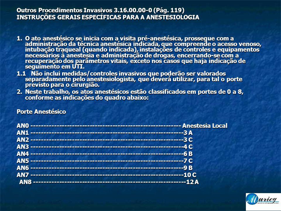 Outros Procedimentos Invasivos 3.16.00.00-0 (Pág.