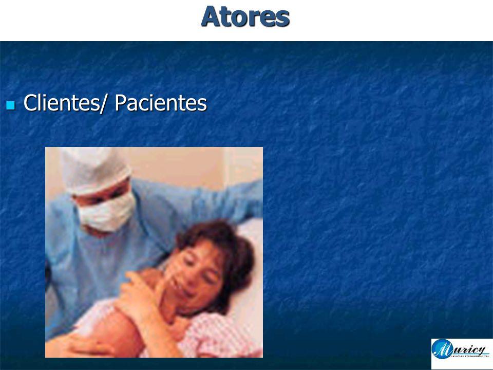  Clientes/ Pacientes Atores