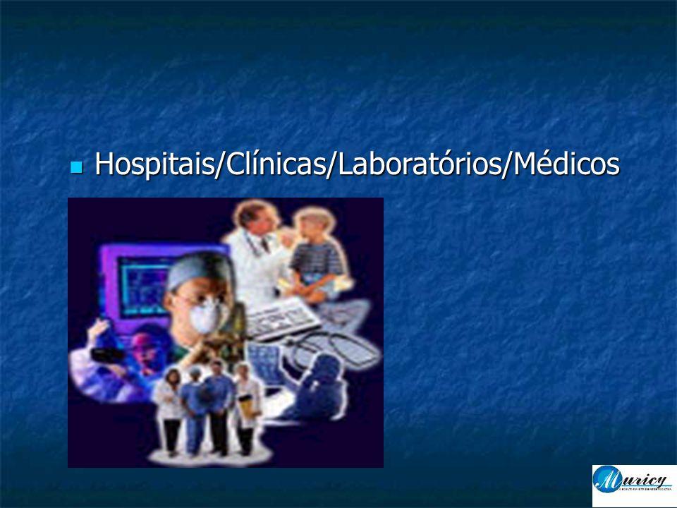  Hospitais/Clínicas/Laboratórios/Médicos