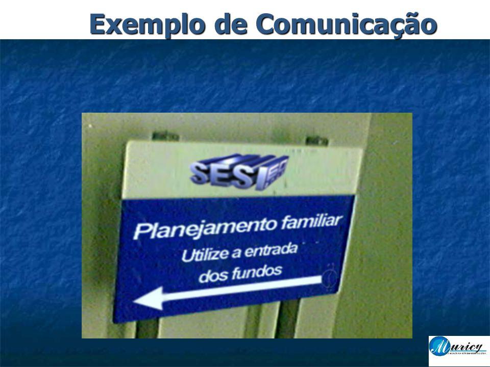 Exemplo de Comunicação
