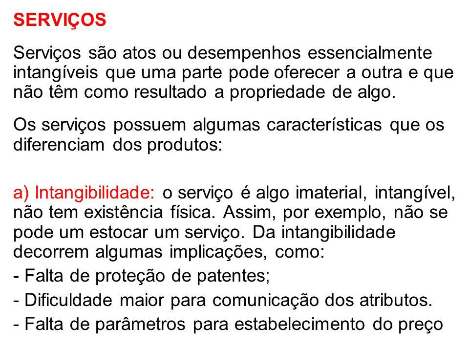 b) Inseparabilidade ou simultaneidade: a produção e o consumo do serviço ocorrem ao mesmo tempo.