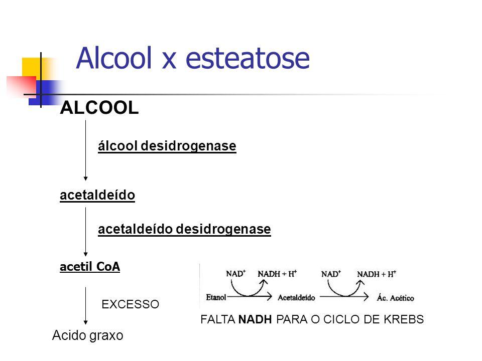  Bloqueio na utilização de lípides: Por interferência na conversão de ácidos graxos em fosfolipídeos [ Apoproteína, nas intoxicações por toxinas, CCl4, Tetraciclina, etc...)  Por bloqueio na utilização e oxidação de lípides por interferência na oxidação de ácidos graxos [Toxina diftérica e fitotoxinas].