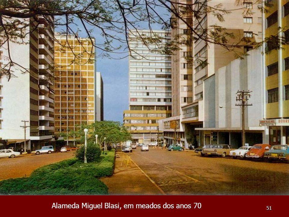 51 Alameda Miguel Blasi, em meados dos anos 70