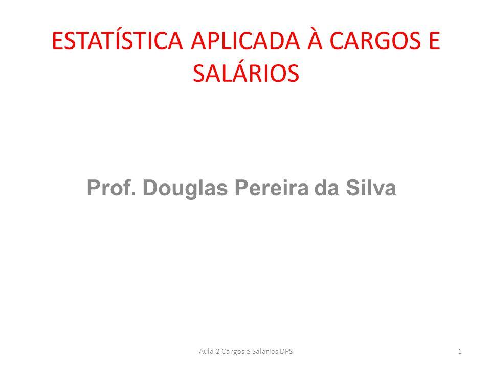 Introdução: A estatística na Administração de Cargos e Salários é fundamental para alinhar dados internos e externos.