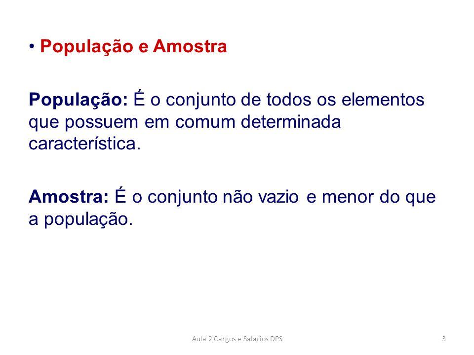 Exemplo População e Amostra.