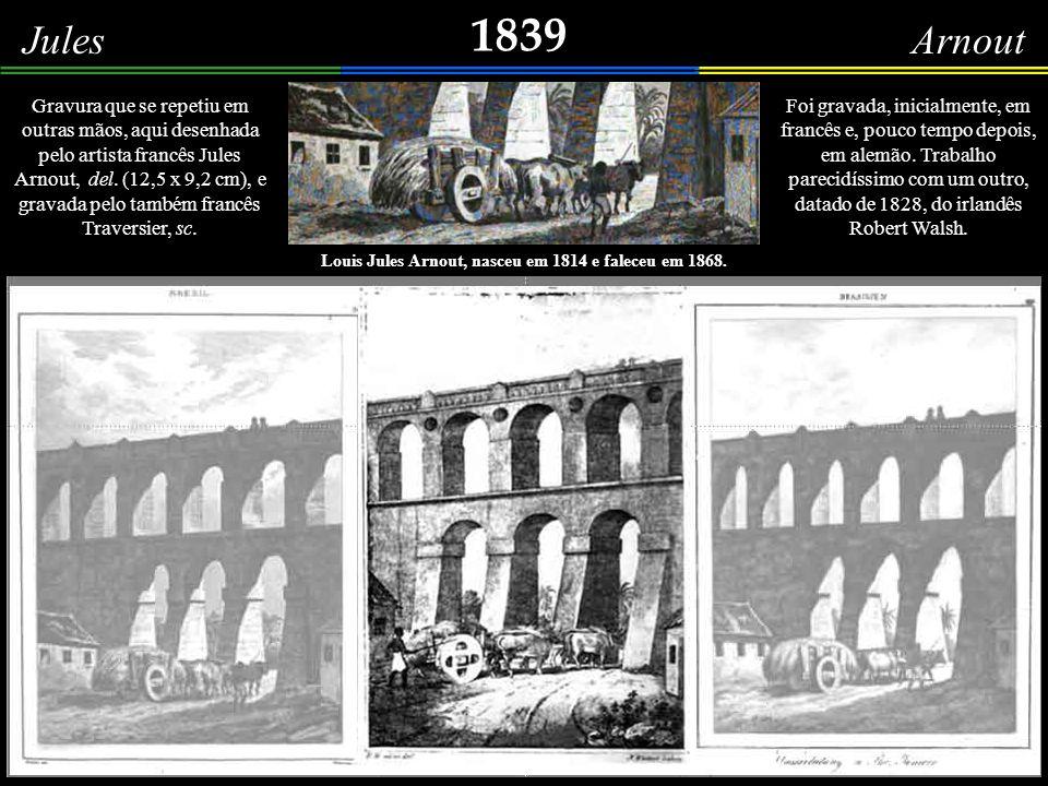 1838 Fleury Francês Um indivíduo, atento, olha para a escadaria que, da cidade baixa, dá acesso ao Mosteiro de São Bento.