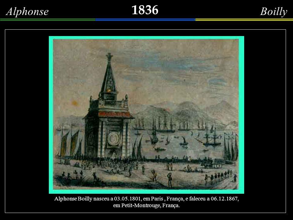 1837 Edmond Bigot La Touanne A entrada da baía de Guanabara, em um dia nublado de 1837, sob a guarda imponente do Pão de Açúcar; alguns barcos se aventuram a atravessar a barra, próxi- mos da fortaleza de Santa Cruz.