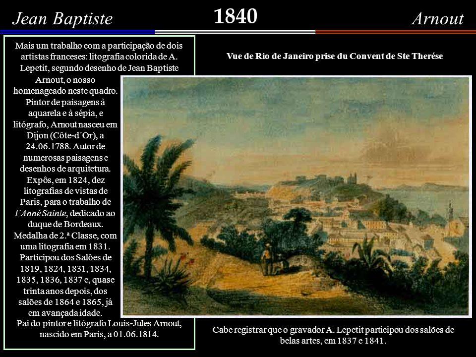 1840 Adolphe d Hastrel Lile des Couleuvres (Ilha das Cobras) Litografia de Adolfo D Hastrel de Rivedoux, nascido na Alsácia, em 1805, e falecido na França, em 1875.