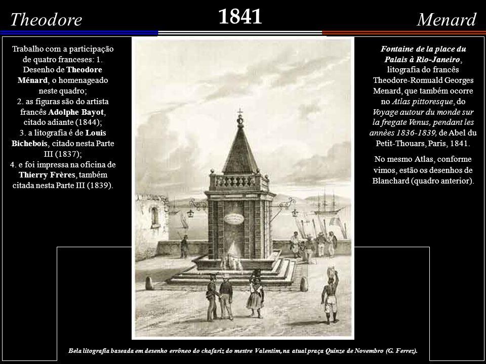 1841 Ph.Blanchard Noir de Rio-Janeiro - Esclave de Rio-Janeiro Duas imagens litografadas por Ph.