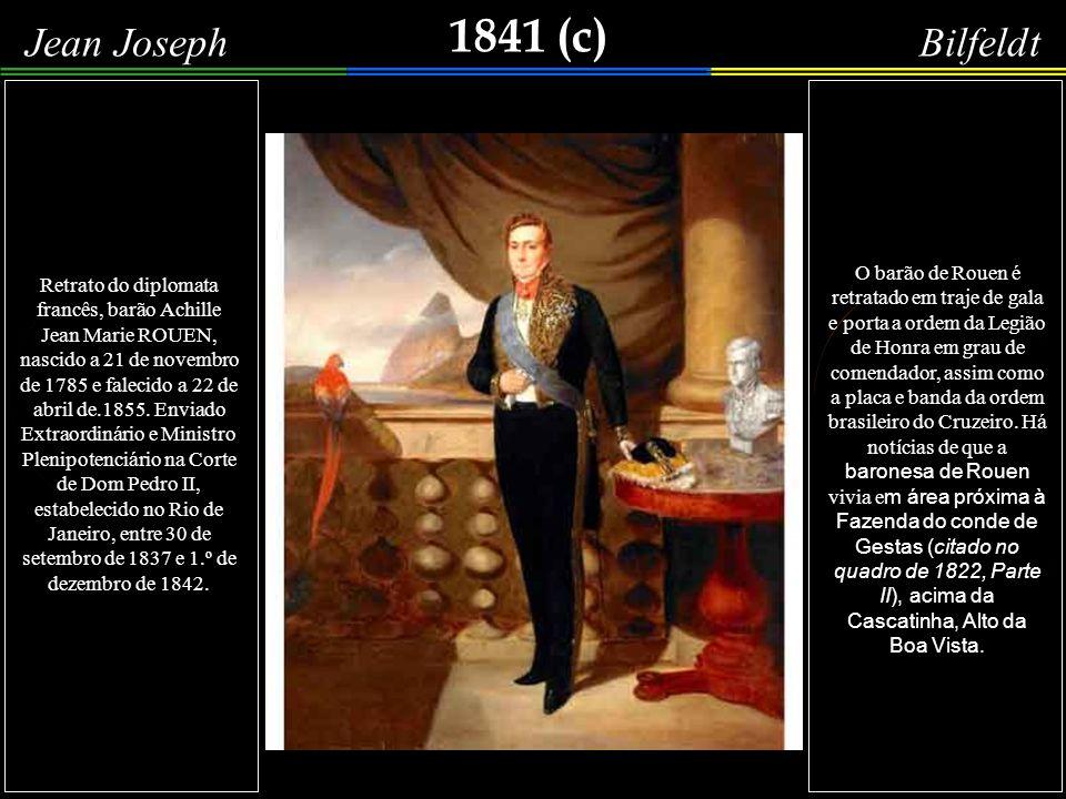 1841 Theodore Menard Mais uma imagem de pessoas conversando ao redor do famoso Chafariz do Mestre Valentim, erguido em 1789, conforme se escreveu no quadro de Alphonse Boilly (1836), desta Parte III.