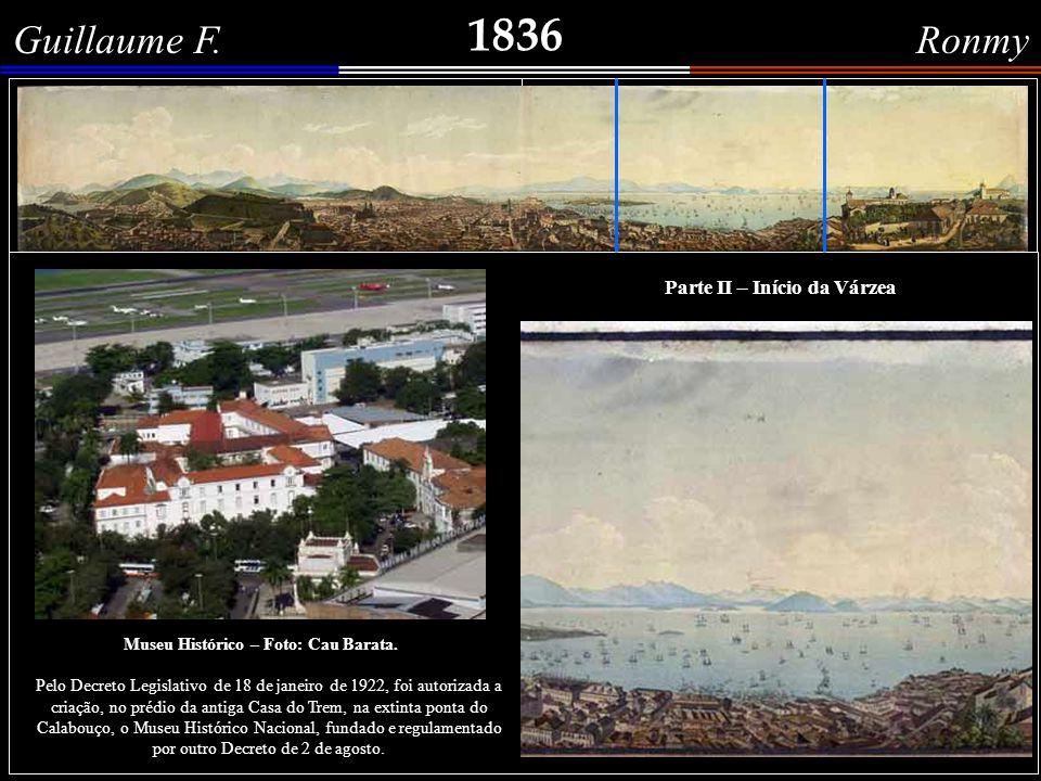 1836 Guillaume F.Ronmy Grande panorama do Rio de Janeiro.