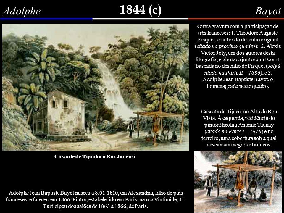 1843 François Philippe d Orleans Joinville No quadro anterior, de Ambroise Garneray, vimos a partida do Príncipe de Joinville, que se encontrava no Rio de Janeiro, para realizar o seu casamento com a filha de D.