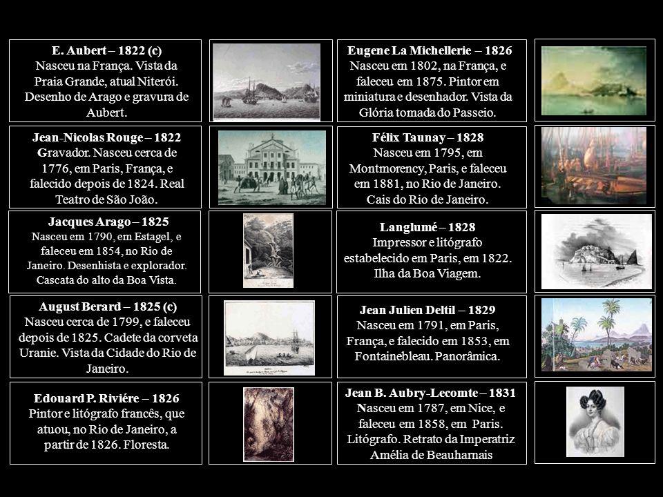 Relação dos trinta e um artistas franceses citados na Parte II Charles Laborde – 1817 Nasceu, na França.