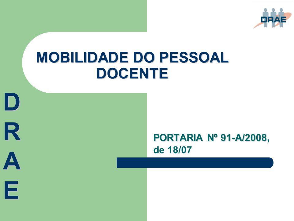 CONTRATOS ADMINISTRATIVOS DE PROVIMENTO PORTARIA Nº 103/2008, PORTARIA Nº 103/2008, de 06/08 DRAEDRAEDRAEDRAE