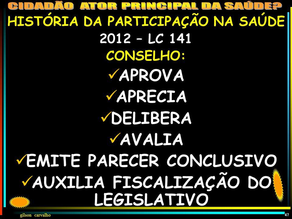 gilson carvalho 46 CONSENSOS & DISCENSOS NA PARTICIPAÇÃO  DEMOCRATISMO ANÁRQUICO XDEMOCRACIA PARTICIPATIVA ONDE TODOS FAZEM/CUMPREM REGRAS  COMPOSIÇ
