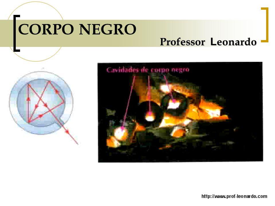 Professor L eonardo CORPO NEGRO