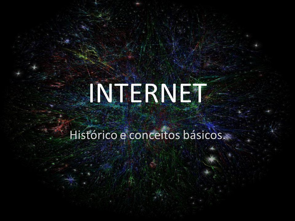 INTERNET Histórico e conceitos básicos.
