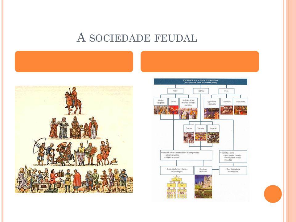 A SOCIEDADE FEUDAL