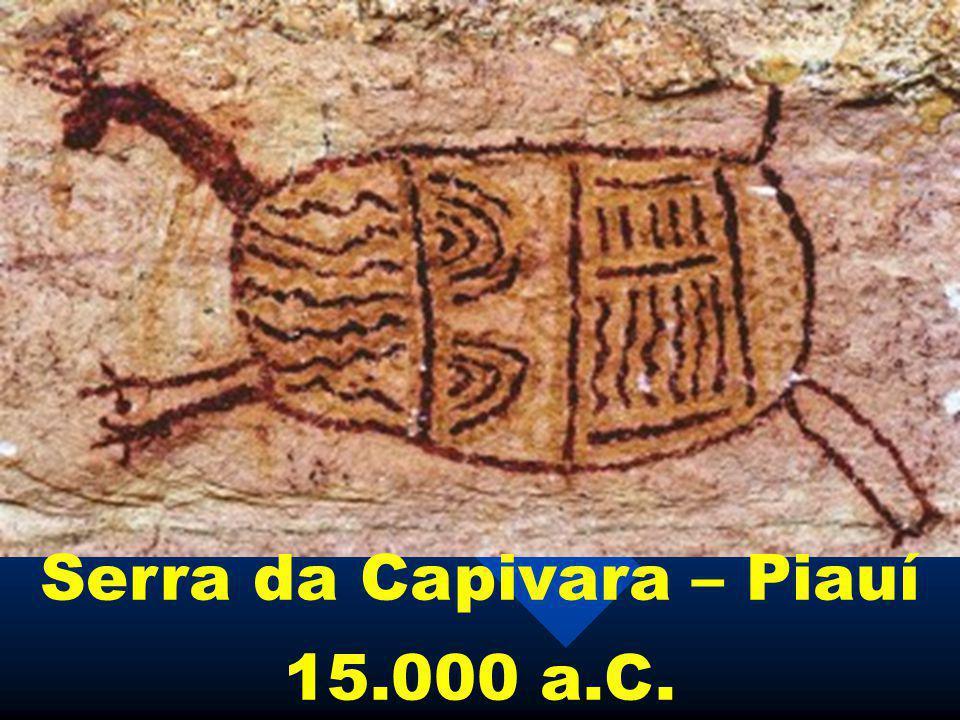 Serra da Capivara – Piauí 15.000 a.C.