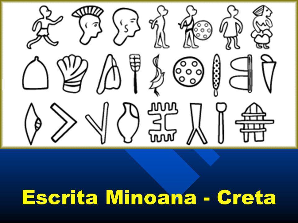 Escrita Minoana - Creta