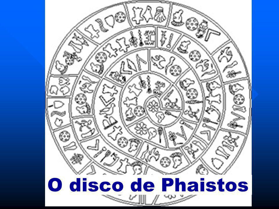 O disco de Phaistos