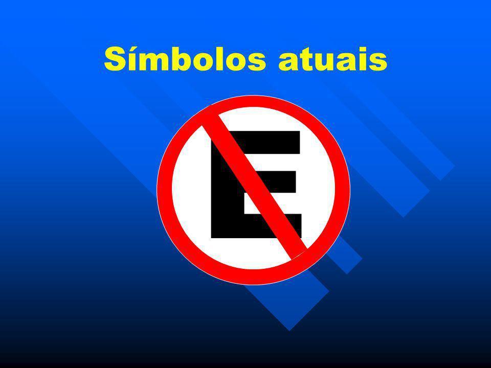 Símbolos atuais E