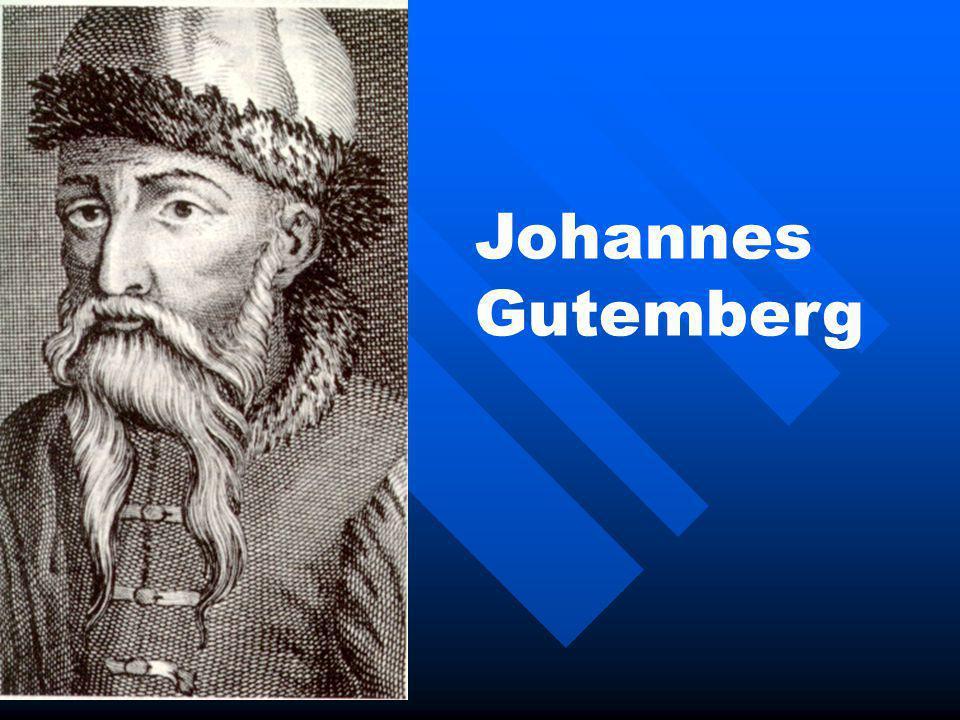 Johannes Gutemberg
