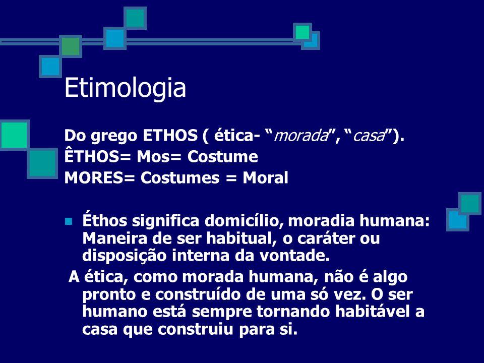 O QUE é Moral? O QUE ÉTICA?