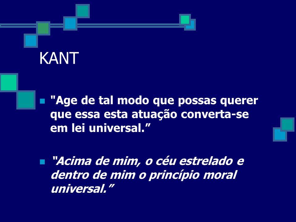 Teoria deontológica de Kant  A ética dos princípios. . Princípio da Liberdade  Princípio da vida  Ética do Dever e do imperativo categórico.  Não