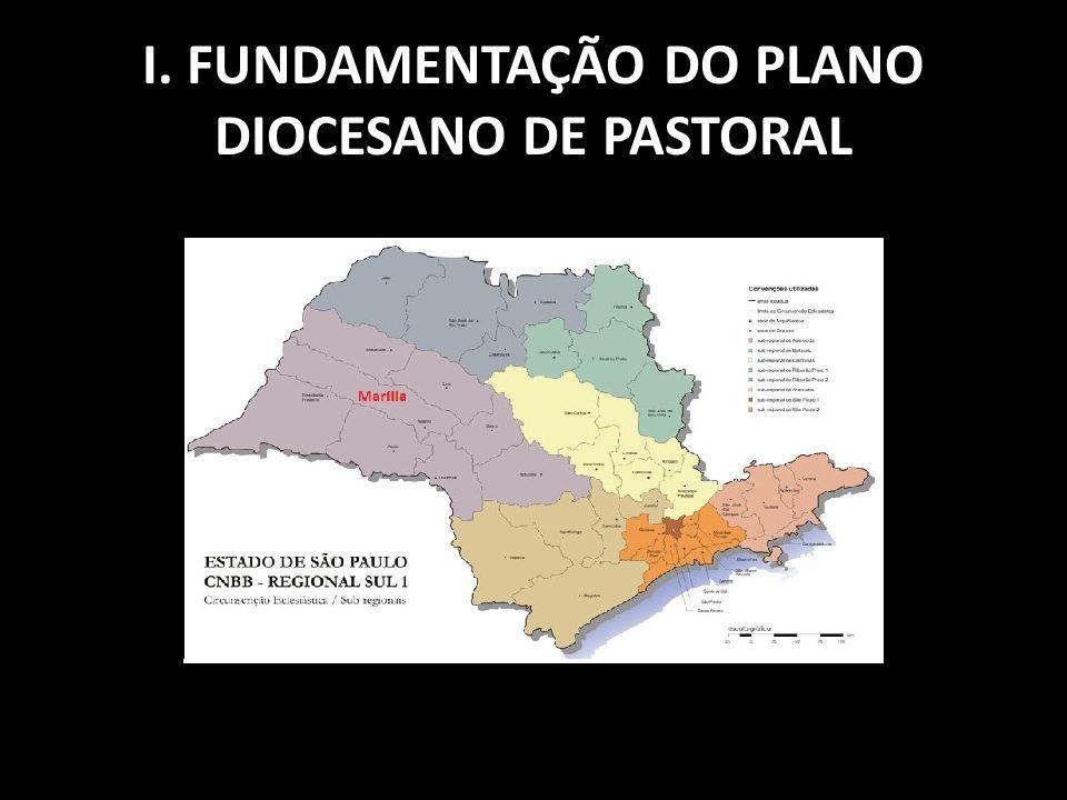 I. FUNDAMENTAÇÃO DO PLANO DIOCESANO DE PASTORAL