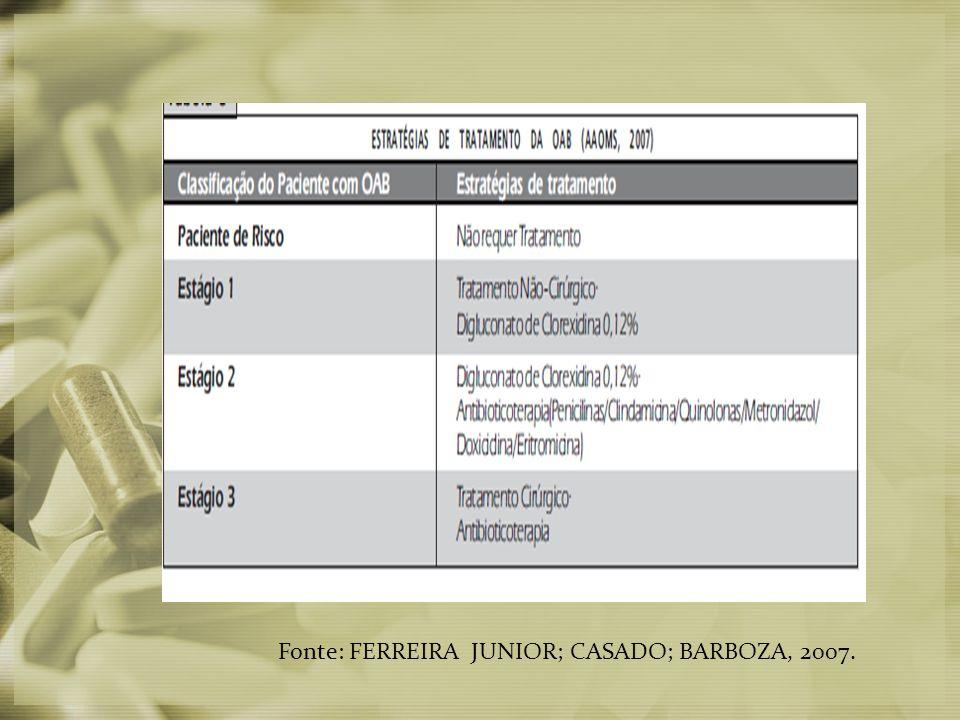 Fonte: FERREIRA JUNIOR; CASADO; BARBOZA, 2007.