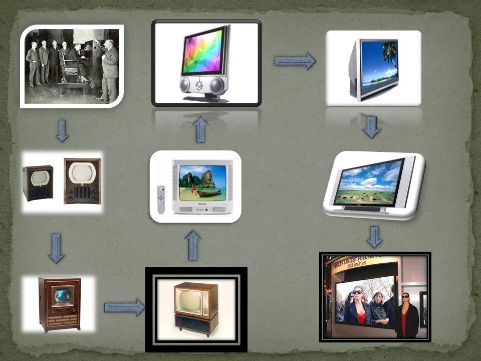 As TVs avançaram muito nos últimos anos, hoje em dia tem até de 2,6 metros, além de que existem televisões em 3D e algumas tem a espessura de uma folha de papel e podem ser carregadas na palma da mão.