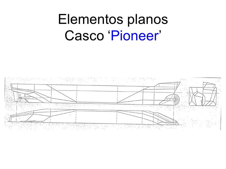 Elementos planos Casco 'Pioneer'