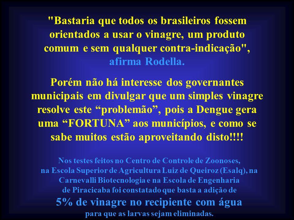 As atuais estatísticas estão bem longe dos números assustadores de 2002, quando o Brasil registrou 800 mil casos da doença.