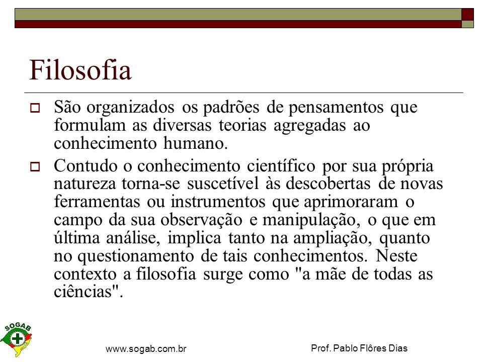 Prof.Pablo Flôres Dias www.sogab.com.br Realidade  O que é.