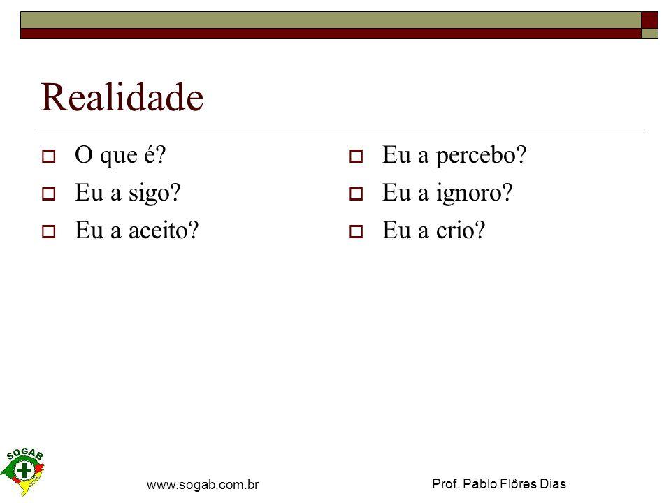 Prof. Pablo Flôres Dias www.sogab.com.br