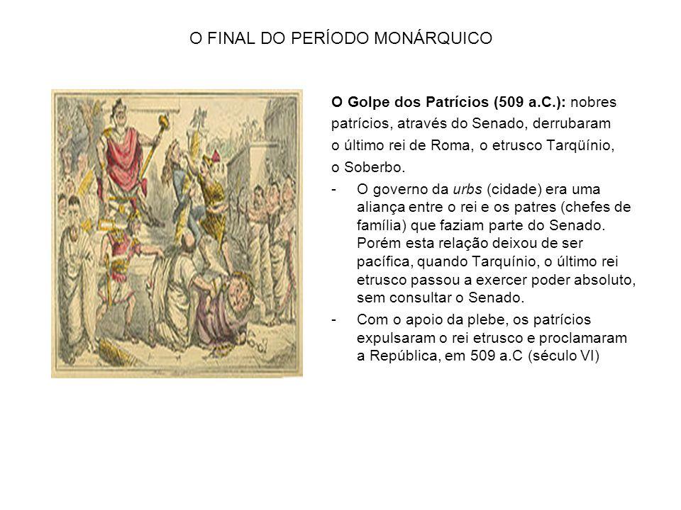 A REPÚBLICA ROMANA – 509 a.C – 31 a.C EXPANSÃO TERRITORIAL DE ROMA DURANTE O PERÍODO REPUBLICANO