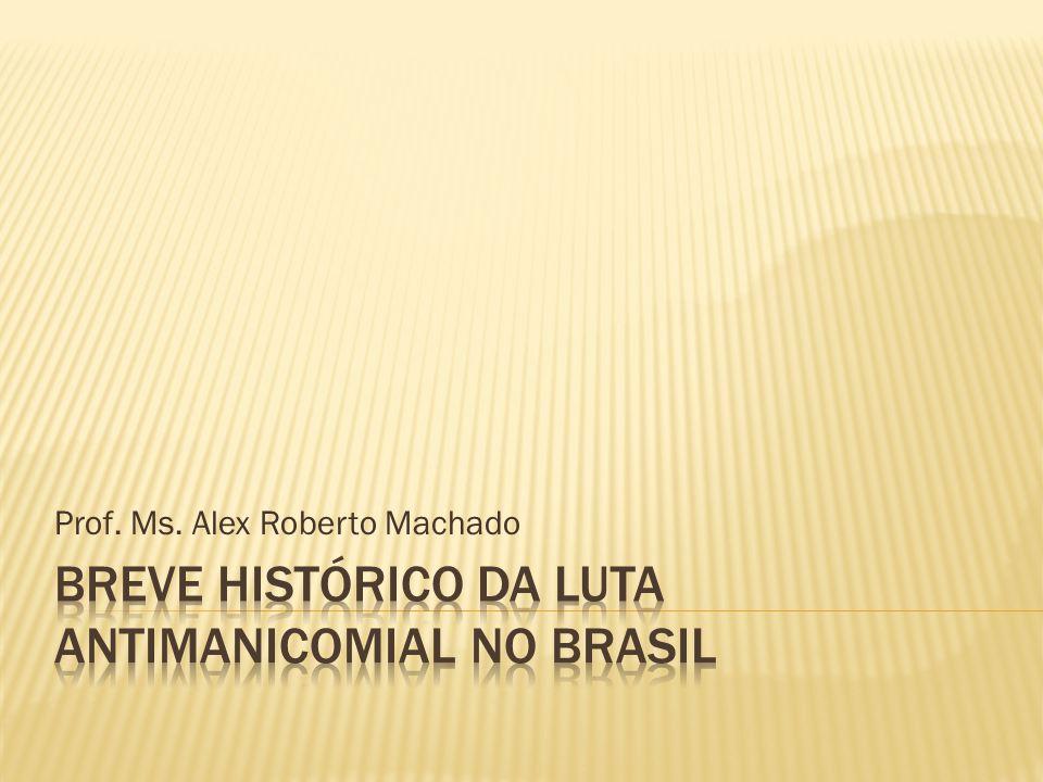 Prof. Ms. Alex Roberto Machado