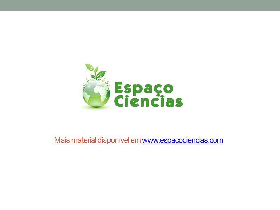 Mais material disponível em www.espacociencias.comwww.espacociencias.com