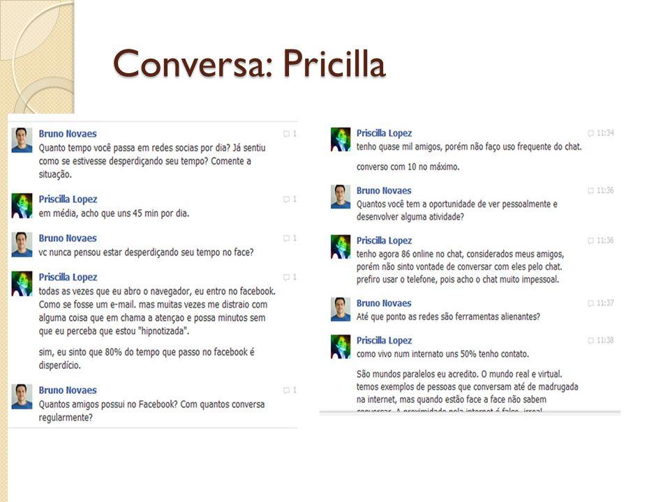 Conversa: Pricilla